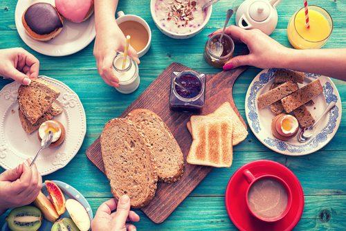 パン,朝ごはん