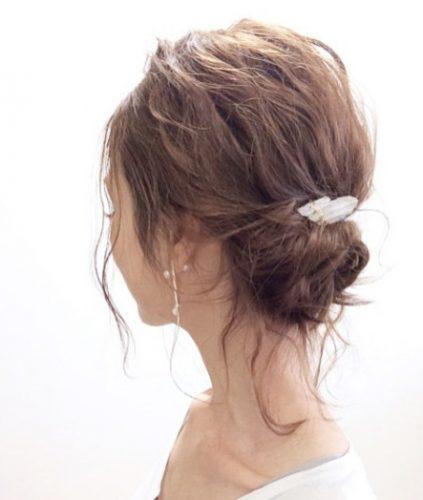 ■ロングヘアにおすすめおしゃれまとめ髪