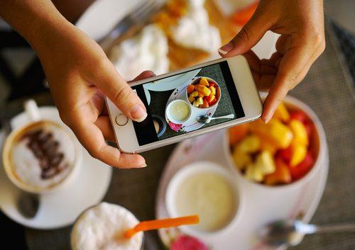 インスタグラム,写真,食べ物