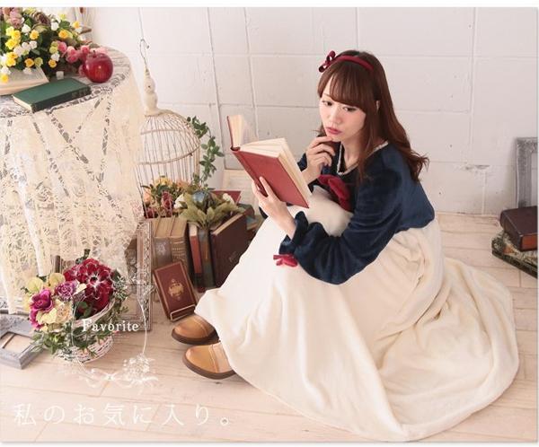 着る毛布,部屋着,赤ずきん,アリス,白雪姫,魔女