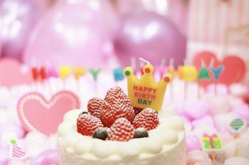 誕生日,ケーキ