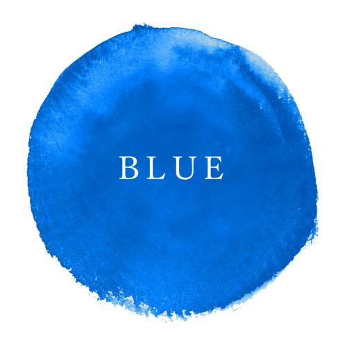 カラー占い, 青, ブルー