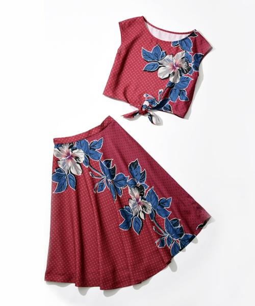 2017,ファッション,トレンド,フェミショル,ボタニカルサファリ