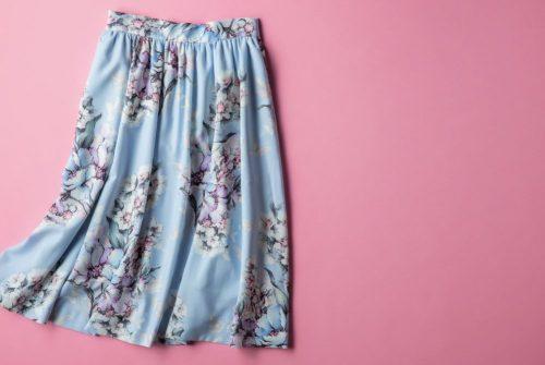 トランティアン,スカート,花柄