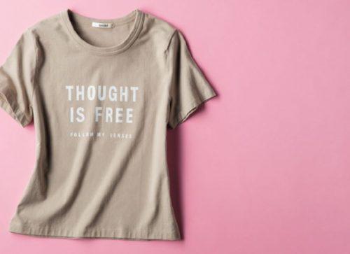 スナイデルのロゴTシャツ