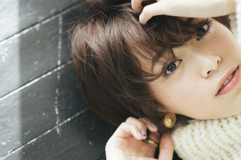 ネイルも可愛い坂田梨香子