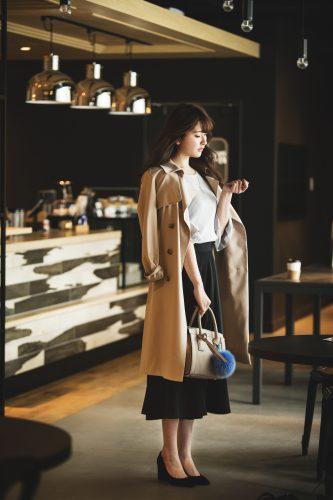 【今日のコーデ】2月28日曇り時々晴れ。最高気温12℃、最低気温3℃のファッション