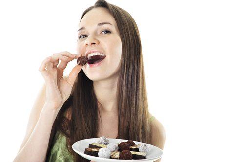 バレンタイン,チョコ,食べる,おいしい