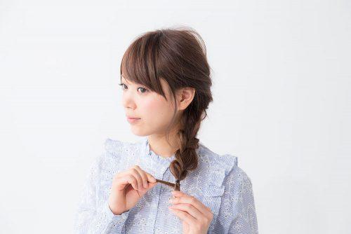簡単!ロングの編み込みヘアアレンジ