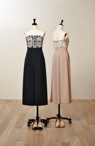 ミモレ丈のドレス