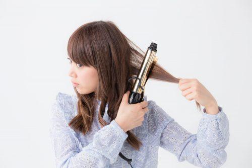 ロングヘアの基本ベース巻きスタイル
