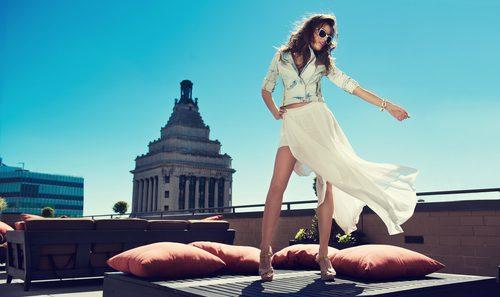 ホワイト,ファッション,透ける
