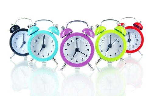 時計,早起き,方法