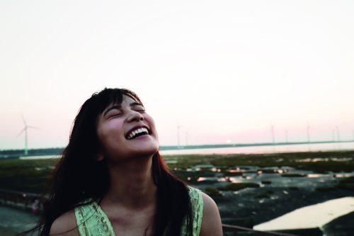 入山杏奈, 笑顔