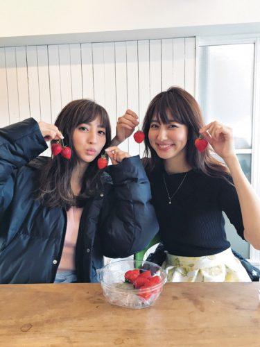 堀田茜,愛甲千笑美,共通点,Cancam,イチゴ