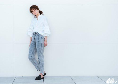 ZARA,白シャツ,トレンド,技ありシャツ