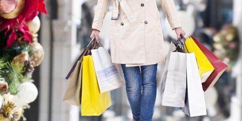 買い物, 買い物袋, 無駄遣い