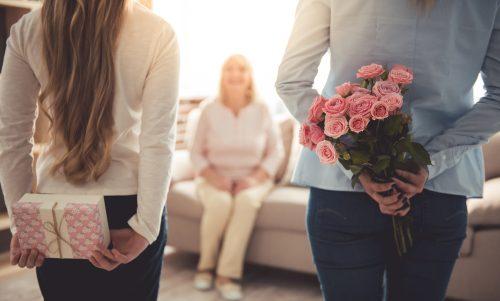 母の日,子ども,贈り物,プレゼント