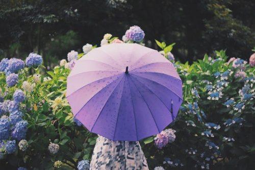 雨の日,憂鬱,楽しく,傘