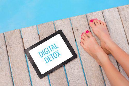 ストレス解消にはデジタルデトックス