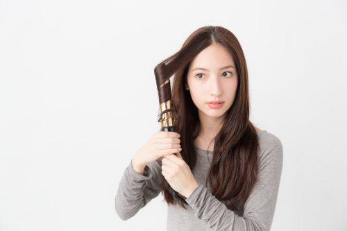 ■前髪なしのダブルくるりんぱポニーテール