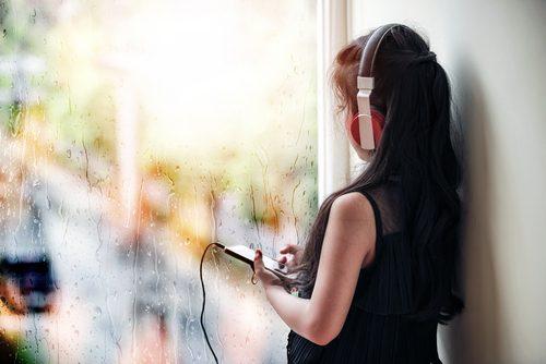 雨の日,憂鬱,楽しく,音楽