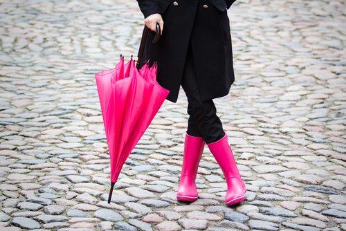 雨の日,憂鬱,楽しく,傘,レインブーツ