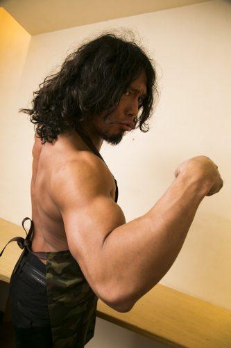 YAMATO,現役プロレスラー,筋肉キッチン,ドライカレー
