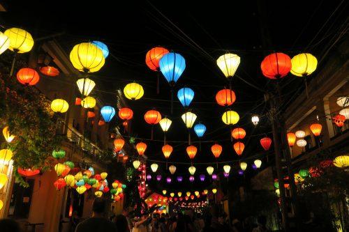 ホイアン、ベトナム、ランタン、travel、世界遺産