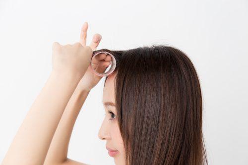 ■ふんわり内巻き♡甘め前髪のつくり方