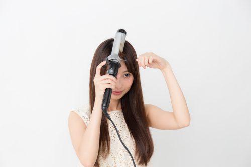 ■ななめ流し前髪