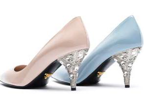 伊勢丹新宿店限定のプラダの靴