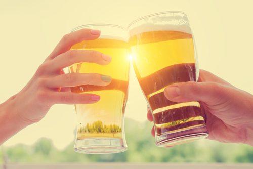 乾杯,お父さん,サシ呑み,お酒,父子