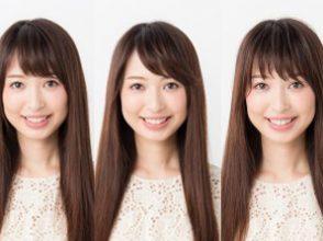 前髪の簡単な巻き方で3変化