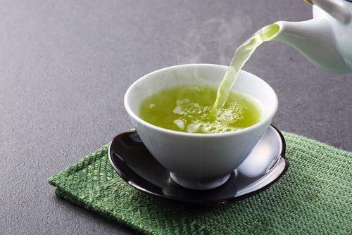 女性,女子,好き,お茶,緑茶