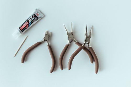 手作りアクセに使う道具