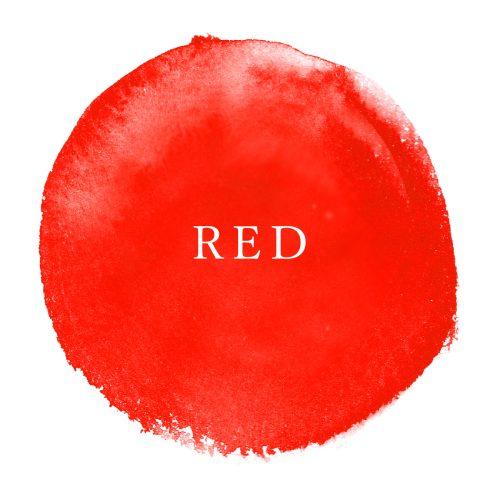 今日のカラー占い, ラッキーカラー, レッド, 赤色