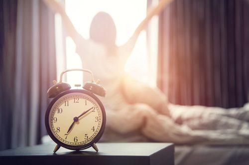 早起き,起きる時間,平日,休日,女性,調査