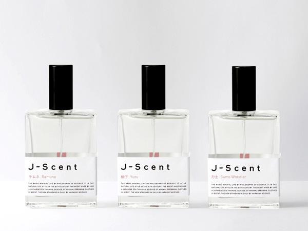J-Scentの和モチーフ香水