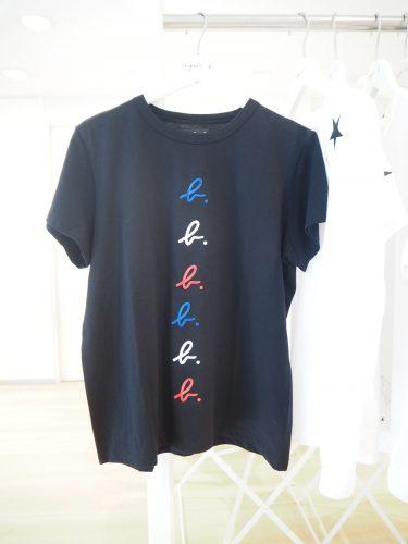 アニエスベーのロゴTシャツ