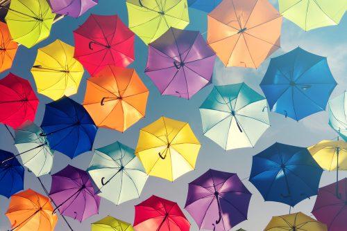 キャンパスクイーン,女子大,あるある,夏,傘