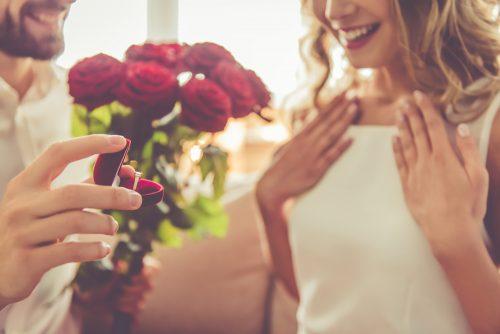 プロポーズ,したい,されたい,点数,調査,男女