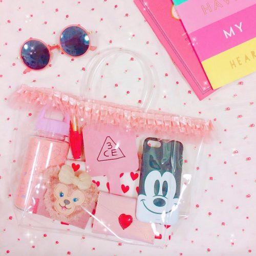 ダイソー,クリアバッグ,おしゃれ,かわいい,インスタ,Instagram