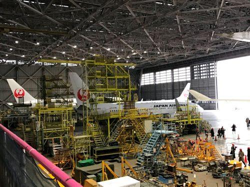 JAL工場見学-Sky-Museum,工場見学,社会科見学,大人,人気,ランキング,