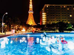 CanCam,Night Pool,ナイトプール,インスタ映え,写真映え,フォトジェニック