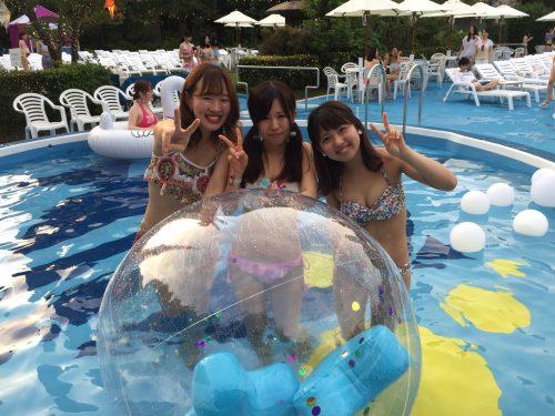 CanCam,Night Pool,ナイトプール,インスタ映え,写真映え,フォトジェニック,東京タワー