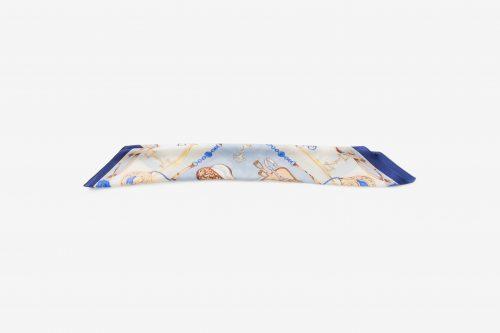 ■頭に巻くスカーフの基本のたたみ方