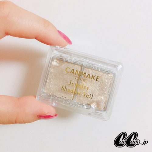 CanCam it girl ,谷山 響,キャンメイク,ジュエリーシャドウベール,アイメイク