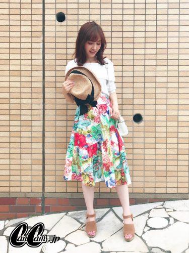 CanCam it girl,渡辺光沙子,小柄,ミニーちゃん,ファッション,スタイルアップ