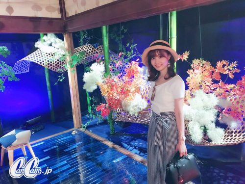 CanCam it girl,渡辺光沙子,ファッション,ユニクロ,ZARA,コーデ,ワイドパンツ